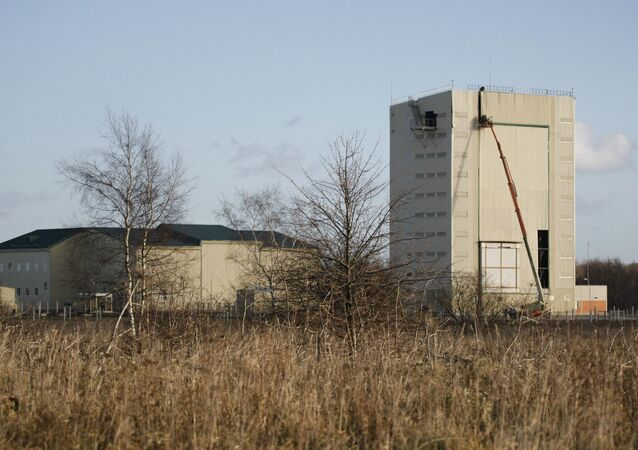 Radar Vitiaz de classe Voronej dans la région de Kaliningrad