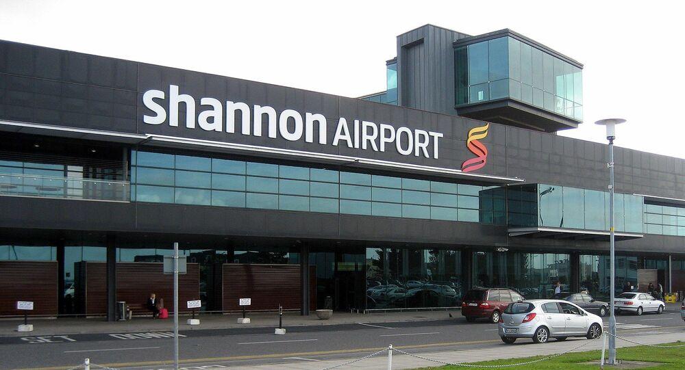 Aéroport de Shannon à 15 km de Limerick, dans l'ouest de l'Irlande