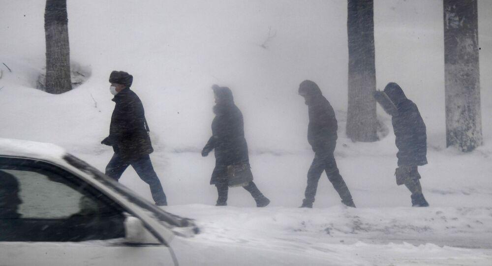 Les passants à Vladivostok (photo d'archives)