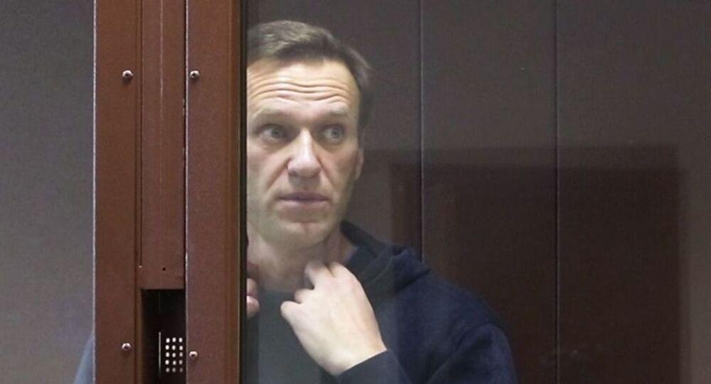 Alexeï Navalny au tribunal