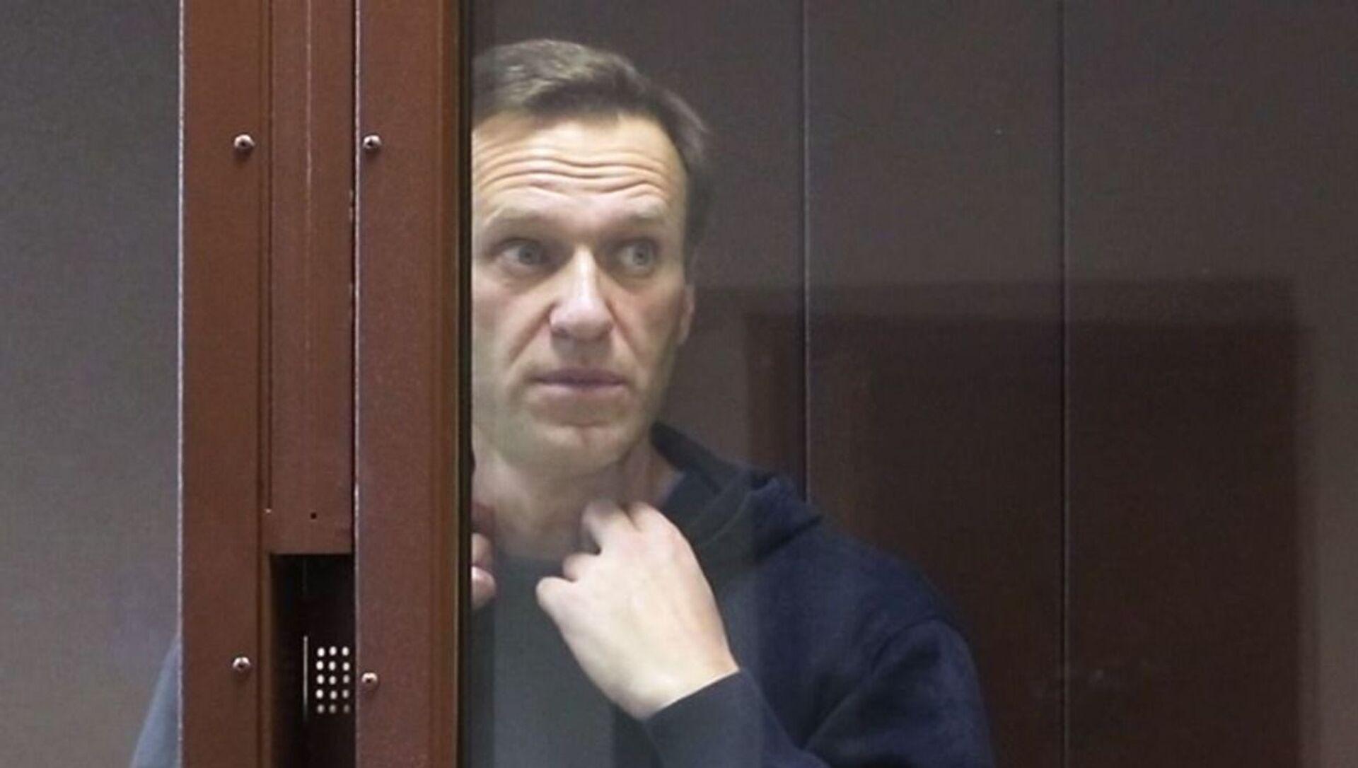 Alexeï Navalny au tribunal  - Sputnik France, 1920, 26.02.2021
