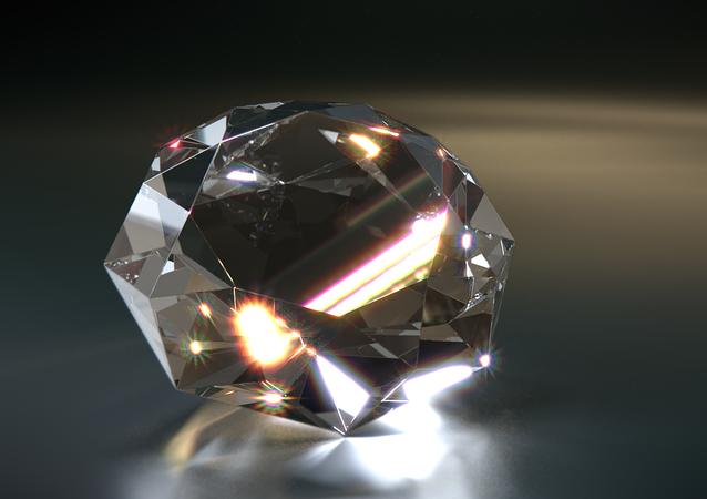 Un diamant (image d'illustration)