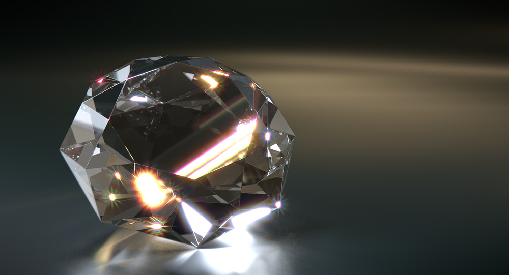 Un diamant (image d'illustration)