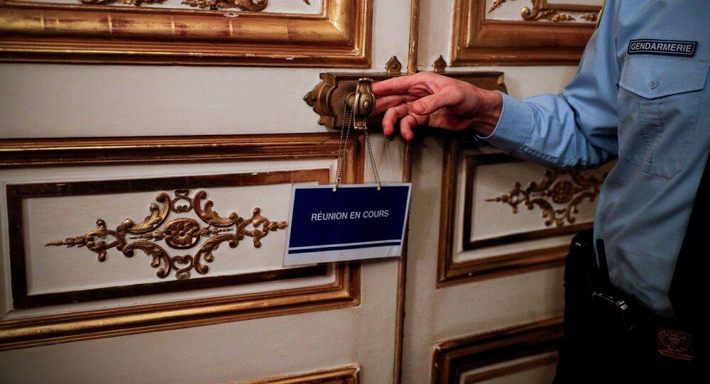 une «réunion en cours» à l'hôtel de Matignon