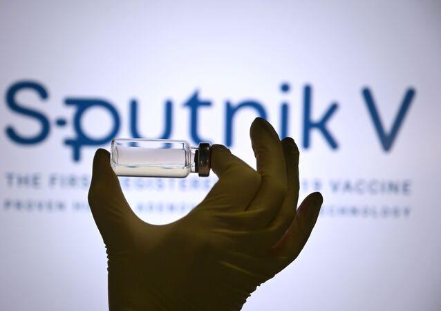 Logo du vaccin Spoutnik V