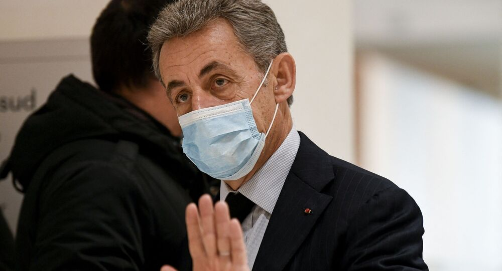 Nicolas Sarkozy lors de son procès, le 10 décembre 2020