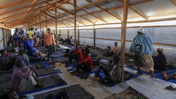 Un groupe de réfugiés centrafricains dans le camp de Gado, Cameroun. - Sputnik France