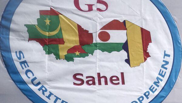 Le drapeau G5 Sahel - Sputnik France