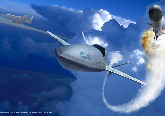 Concept pour le drone Longshot, Northrop Grumman