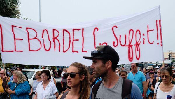 Manifestation des loyalistes à Nouméa - Sputnik France