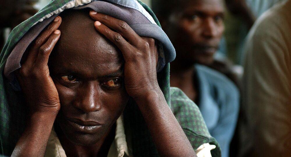 Des prisonniers rwandais
