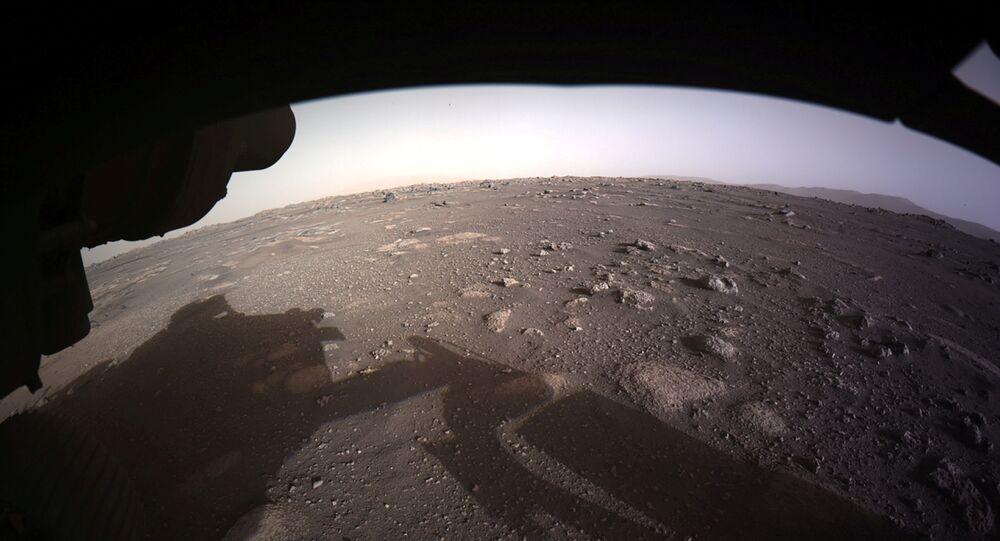rover Perseverance sur Mars