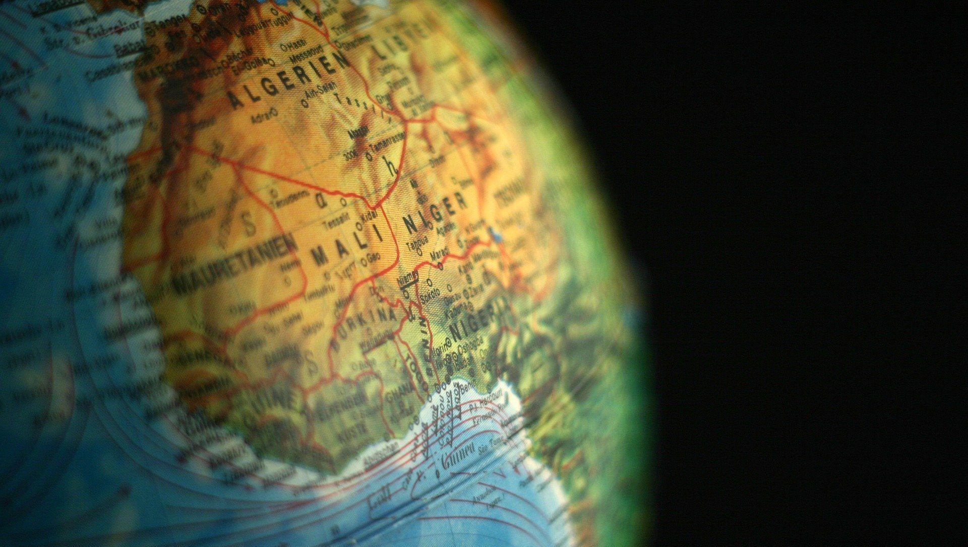 Le Niger sur la carte - Sputnik France, 1920, 31.07.2021