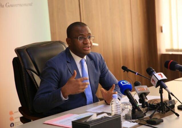 Le porte-parole du gouvernement ivoirien, Sidi Tiémoko Touré