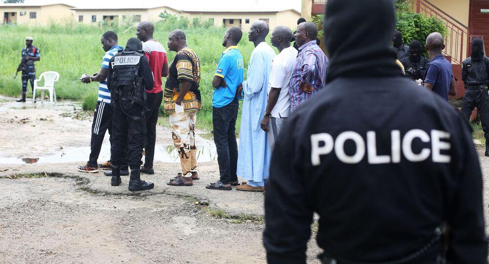 Forces de police gabonaises