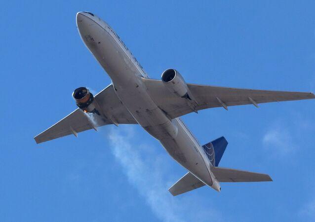 L'incident sur un vol United Airlines qui joignait samedi Denver (Colorado) à Honolulu (Hawaï) avec 231 passagers et 10 membres d'équipage, le 20 février