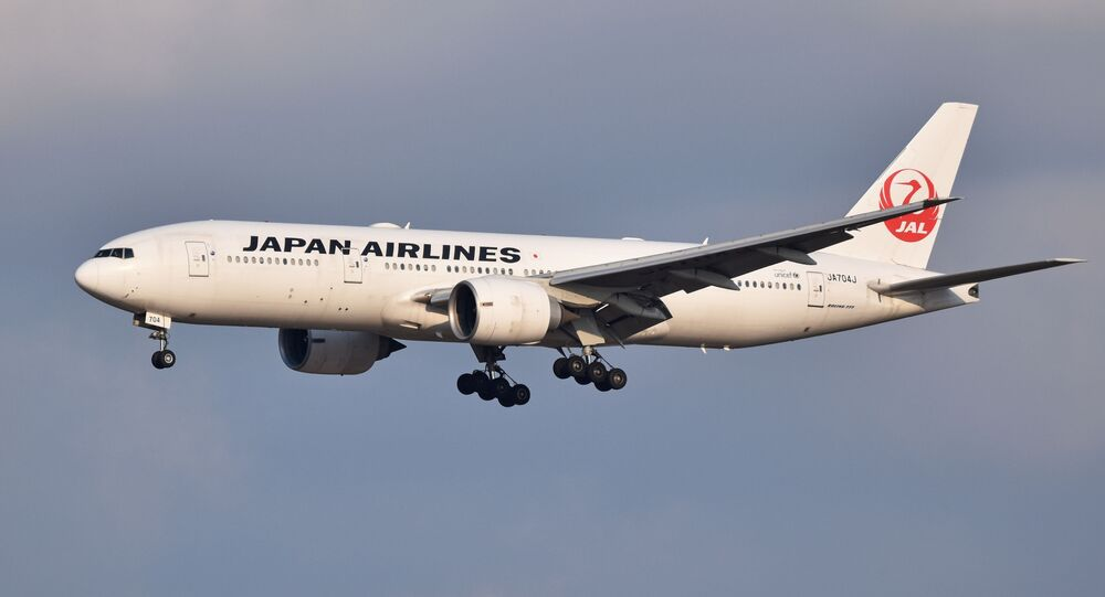 Un Boeing 777 de Japan Airlines (archive photo)