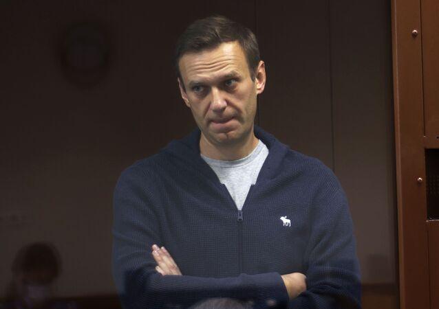 Alexeï Navalny lors d'un procès à Moscou (archive photo)