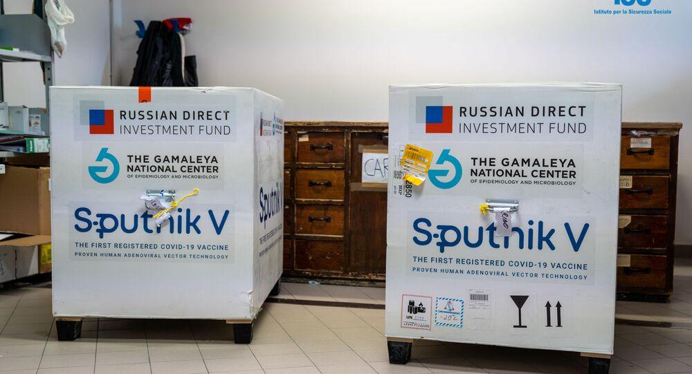 Le premier lot du vaccin Spoutnik V arrive à Saint-Marin