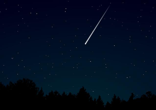 Un météore, image d'illustration