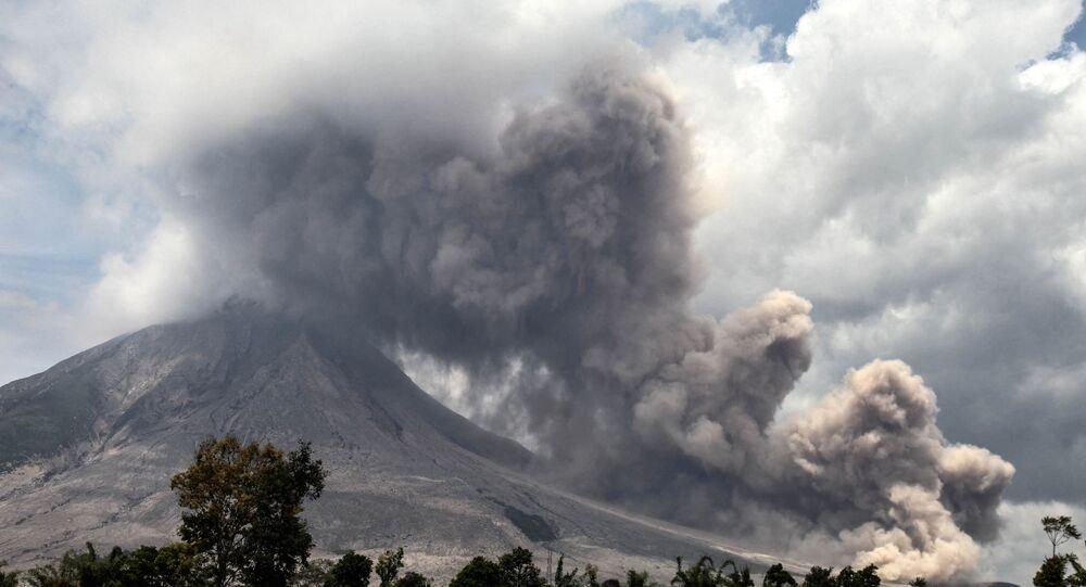Volcan Sinabung (image d'illustration)