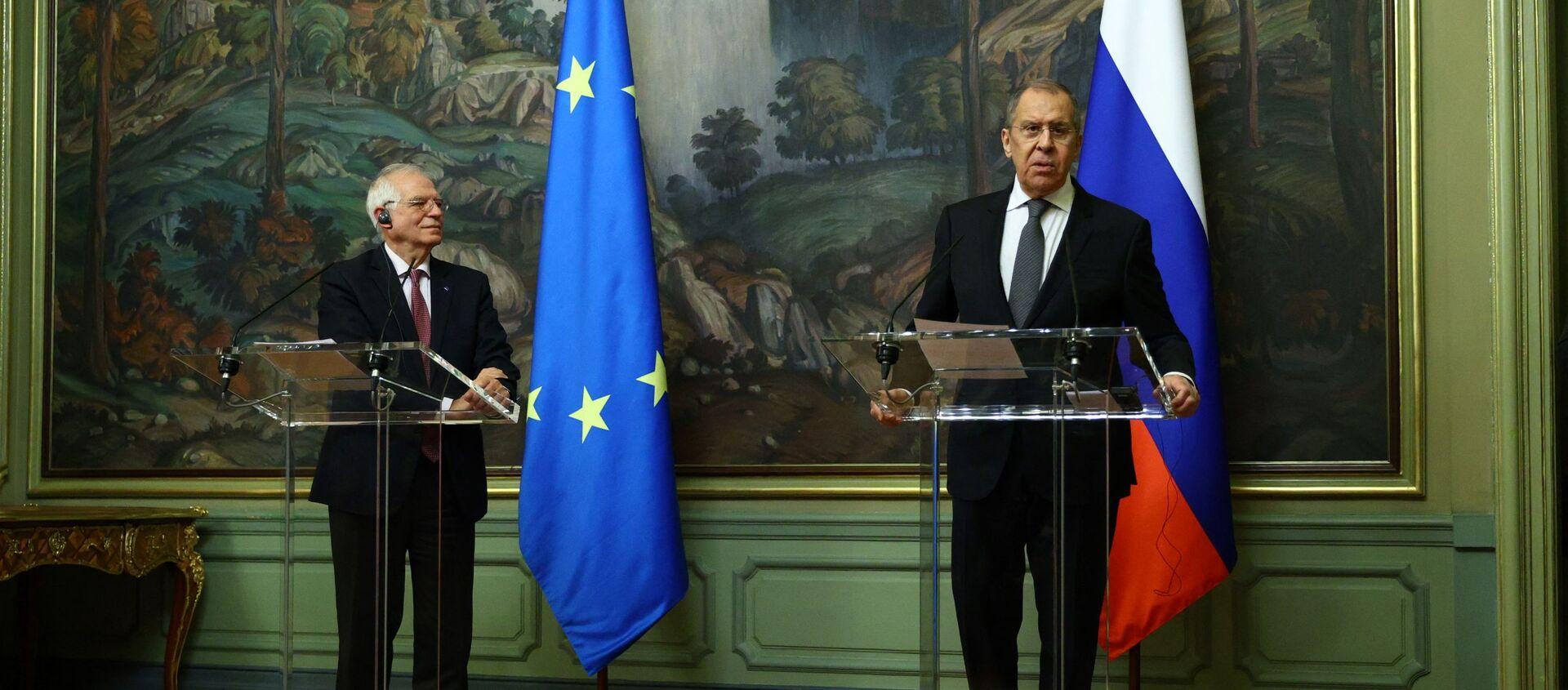 Serguei Lavrov et Josep Borrell à Moscou - Sputnik France, 1920, 25.02.2021