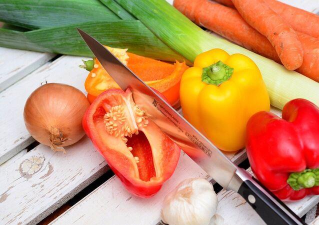Un couteau de cuisine
