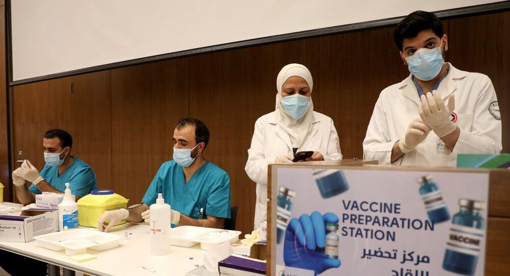 Centre de vaccination Liban