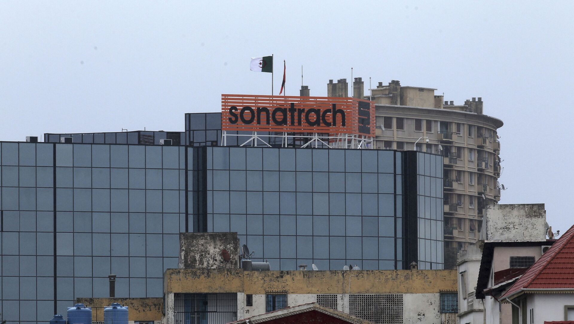 Le logo de la Sonatrach à Alger - Sputnik France, 1920, 26.02.2021