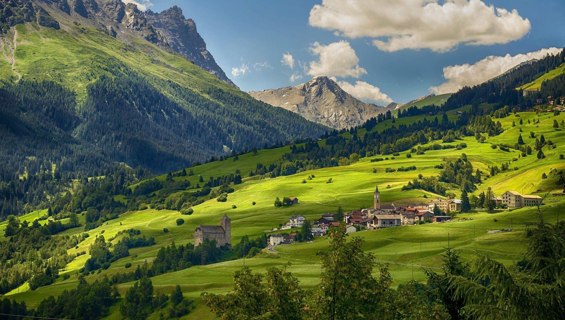 Un village en Suisse - Sputnik France, 1920, 26.02.2021