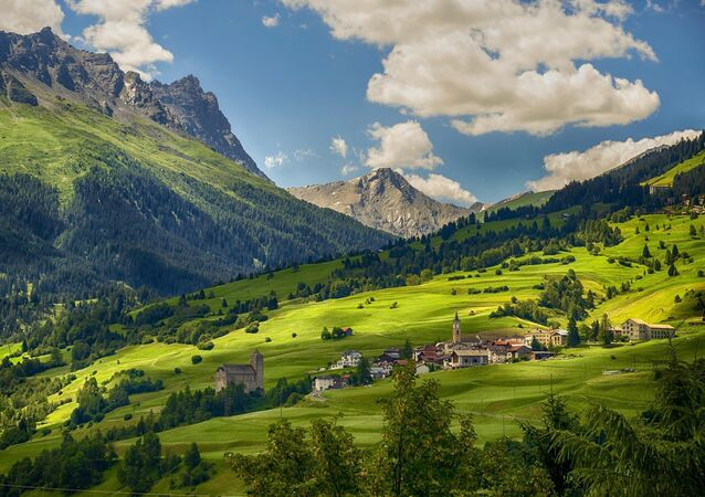 Un village en Suisse