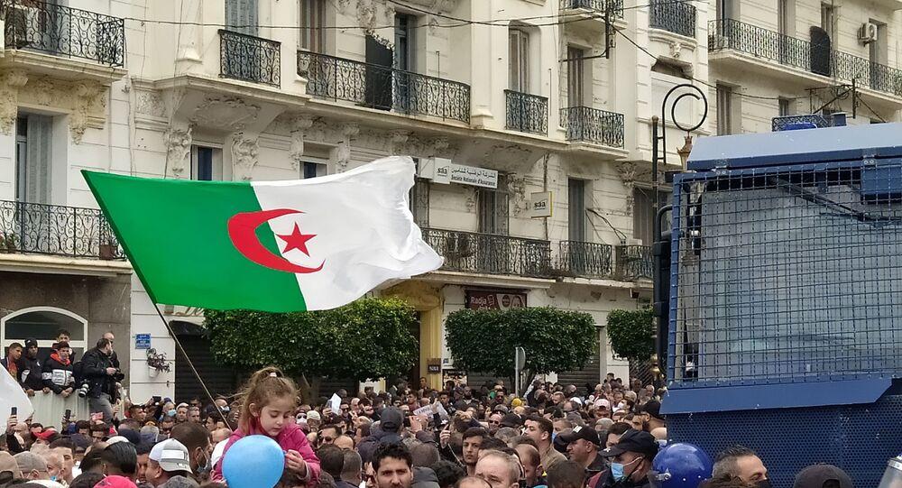 Reprise des marches pacifiques du Hirak à Alger.