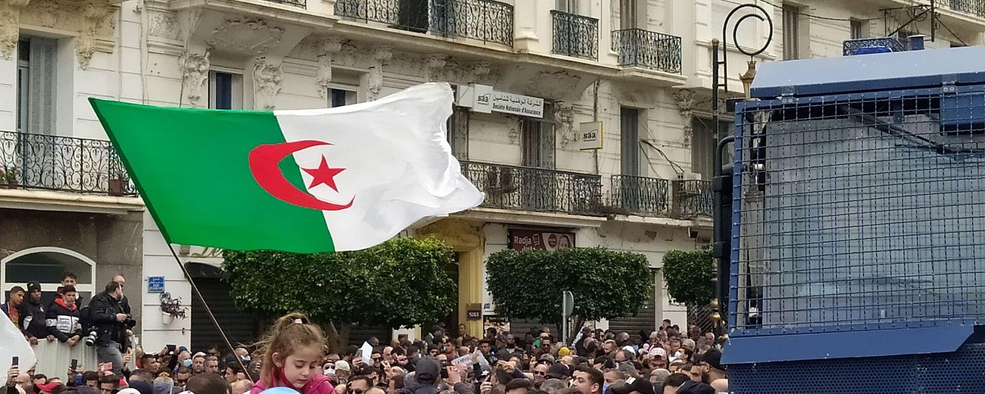 Reprise des marches pacifiques du Hirak à Alger. - Sputnik France, 1920, 03.06.2021