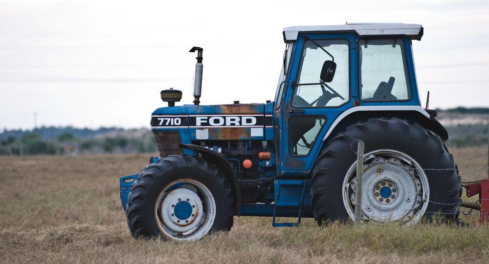 Un tracteur Ford (image d'illustration)