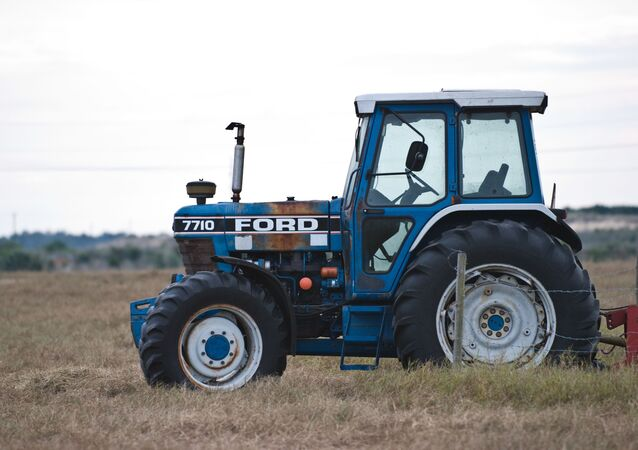 Un tracteur Ford (image d'illustration)