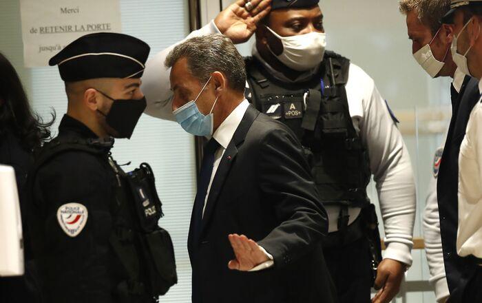 Nicolas Sarkozy au tribunal, le 1 mars 2021