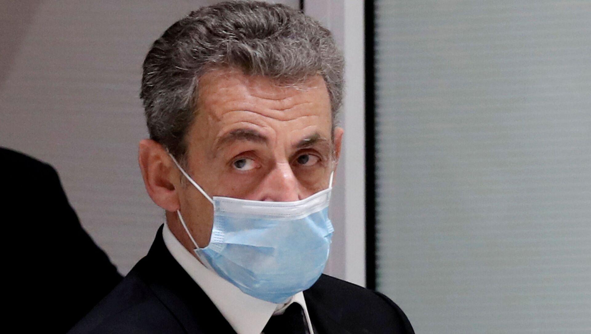 L'ex-Président français Nicolas Sarkozy au tribunal, le 1 mars 2021 - Sputnik France, 1920, 03.03.2021
