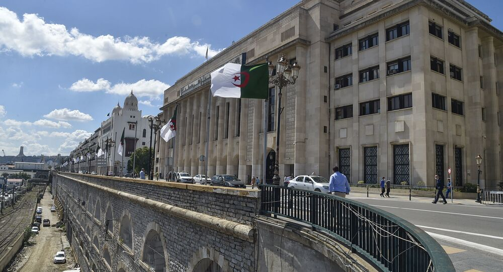 Le Parlement algérien