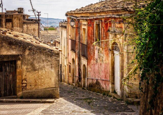 Village d'Italie, photo d'illustration