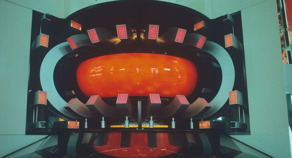 Une maquette du réacteur thermonucléaire T-15 (archive photo)