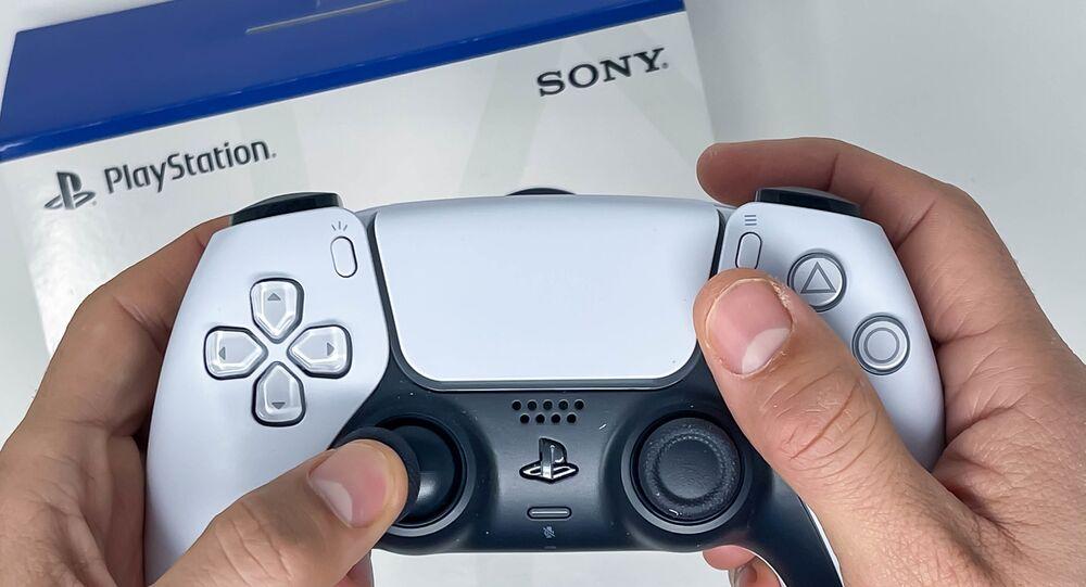 Manette sans fil Sony DualSense pour PS5 (archive photo)