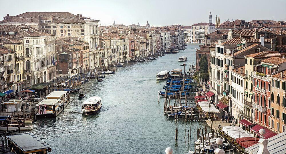 Le Grand Canal, à Venise