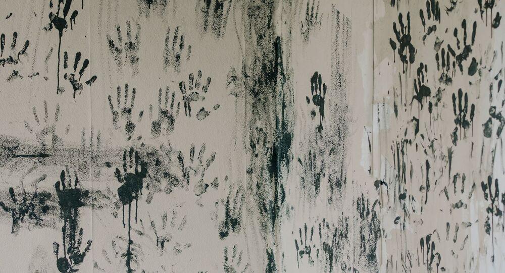 impressions des mains