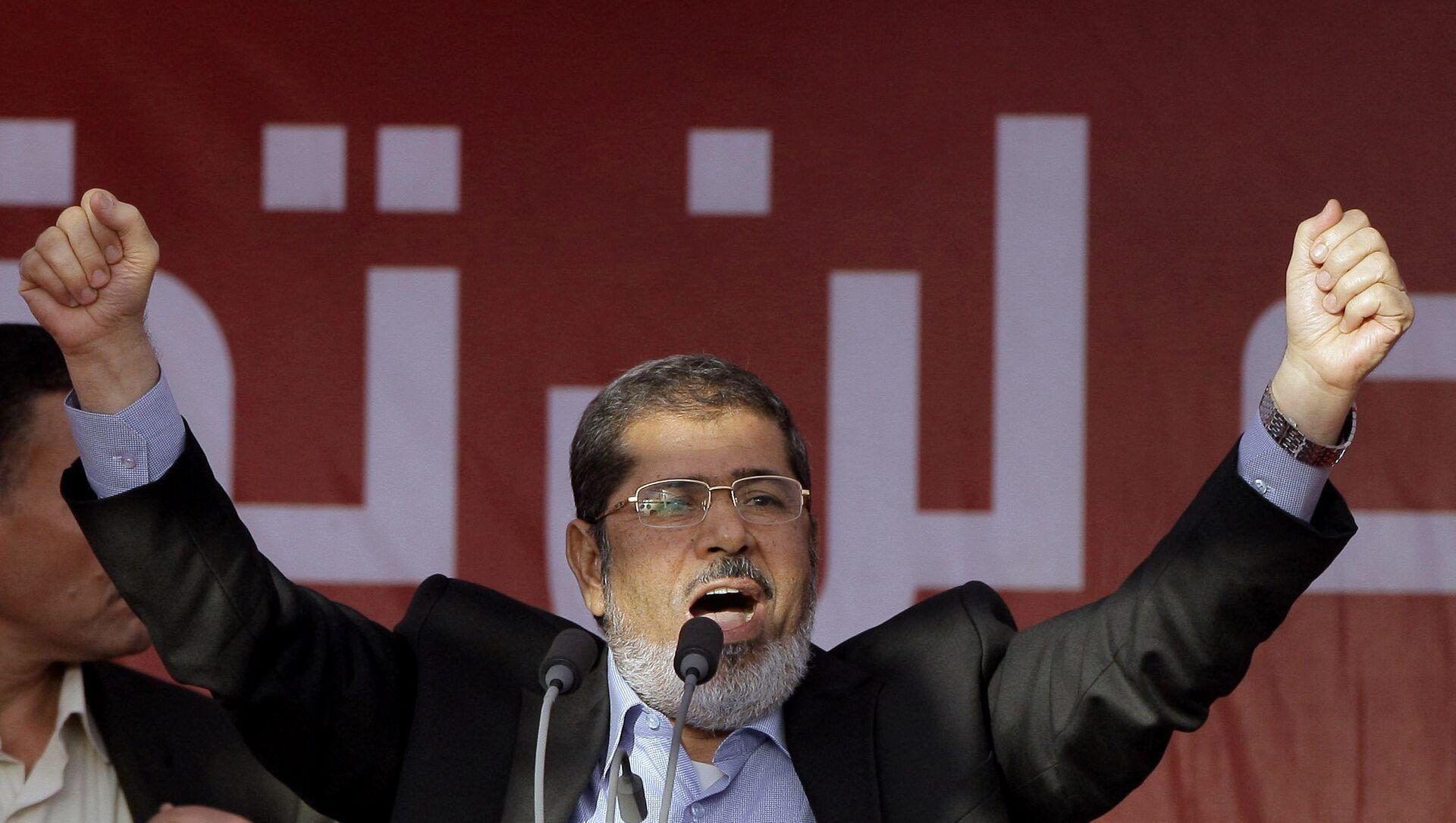 L'ex-Président égyptien Mohamed Morsi  - Sputnik France, 1920, 02.03.2021