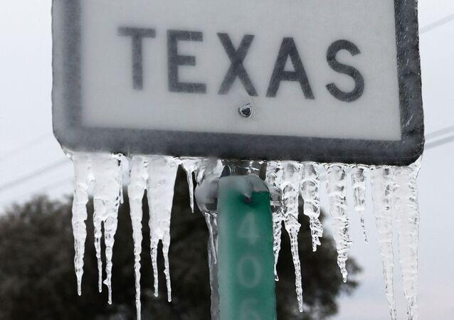 Vague de froid au Texas, février 2021