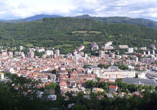 Centre ville de Gap (Hautes-Alpes)