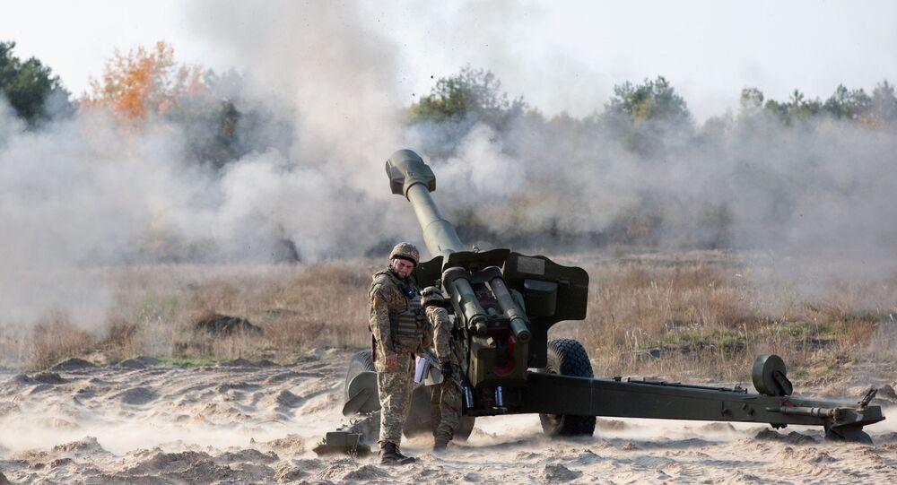 Un polygone de tir dans la région de Kiev, en Ukraine (archive photo)