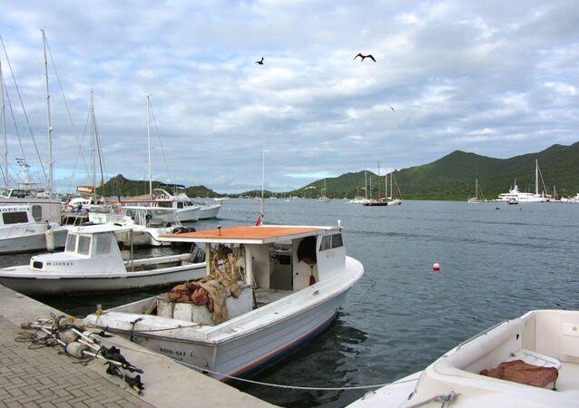 Le lagon de Simpson Bay à Saint-Martin (archive photo)