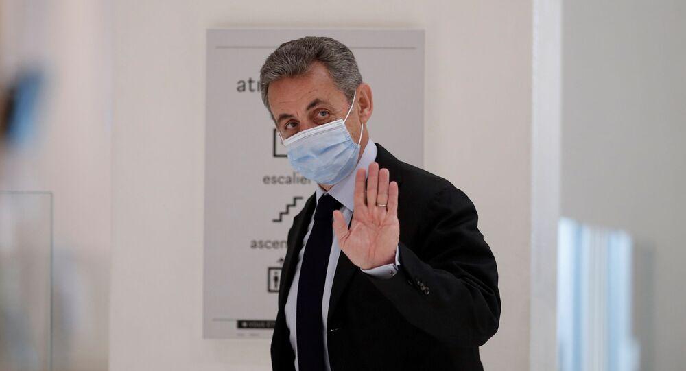 Nicolas Sarkozy, photo d'archives