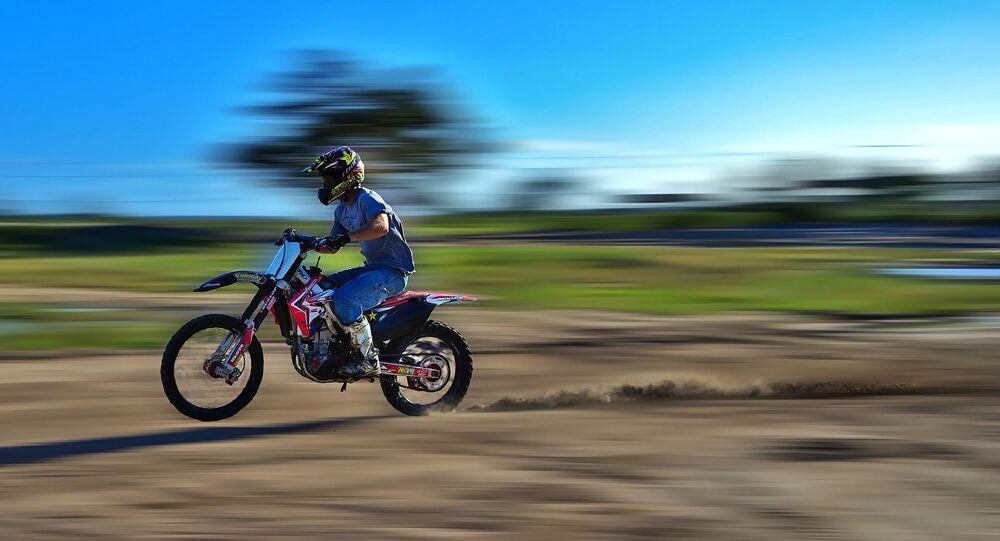Un motocross (image d'illustration)